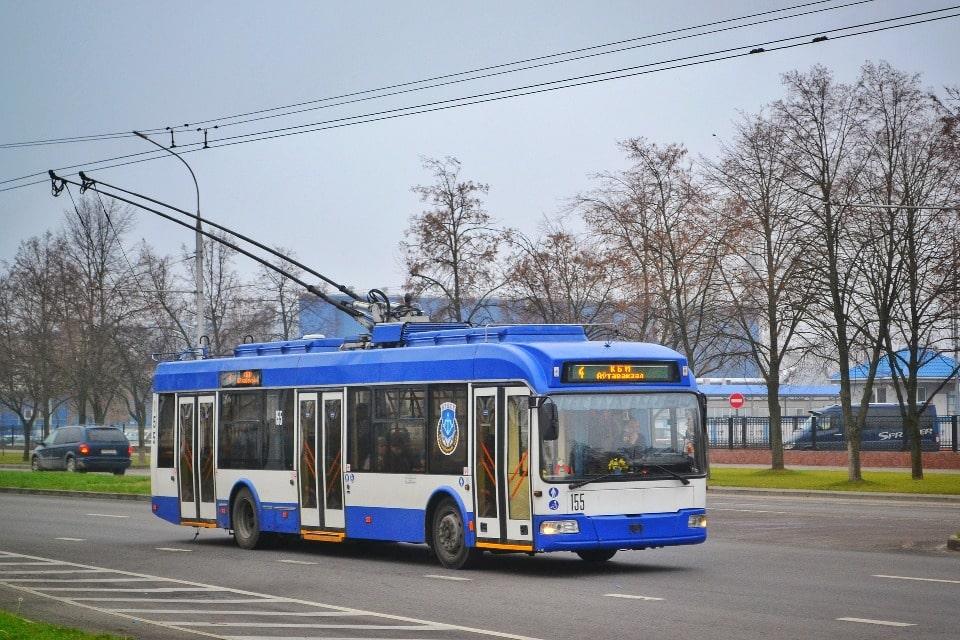 Через перевал проходят два троллейбусных маршрута