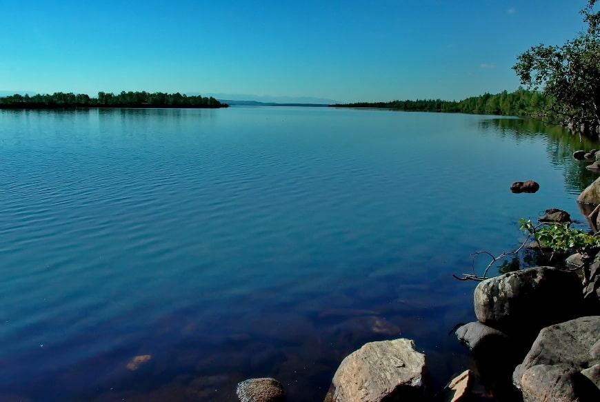 Сплав завершается в Иовском водохранилище