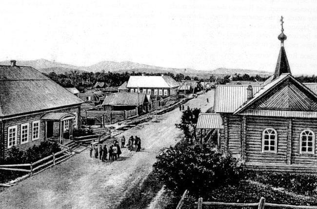 Владимировка в 1880-е годы