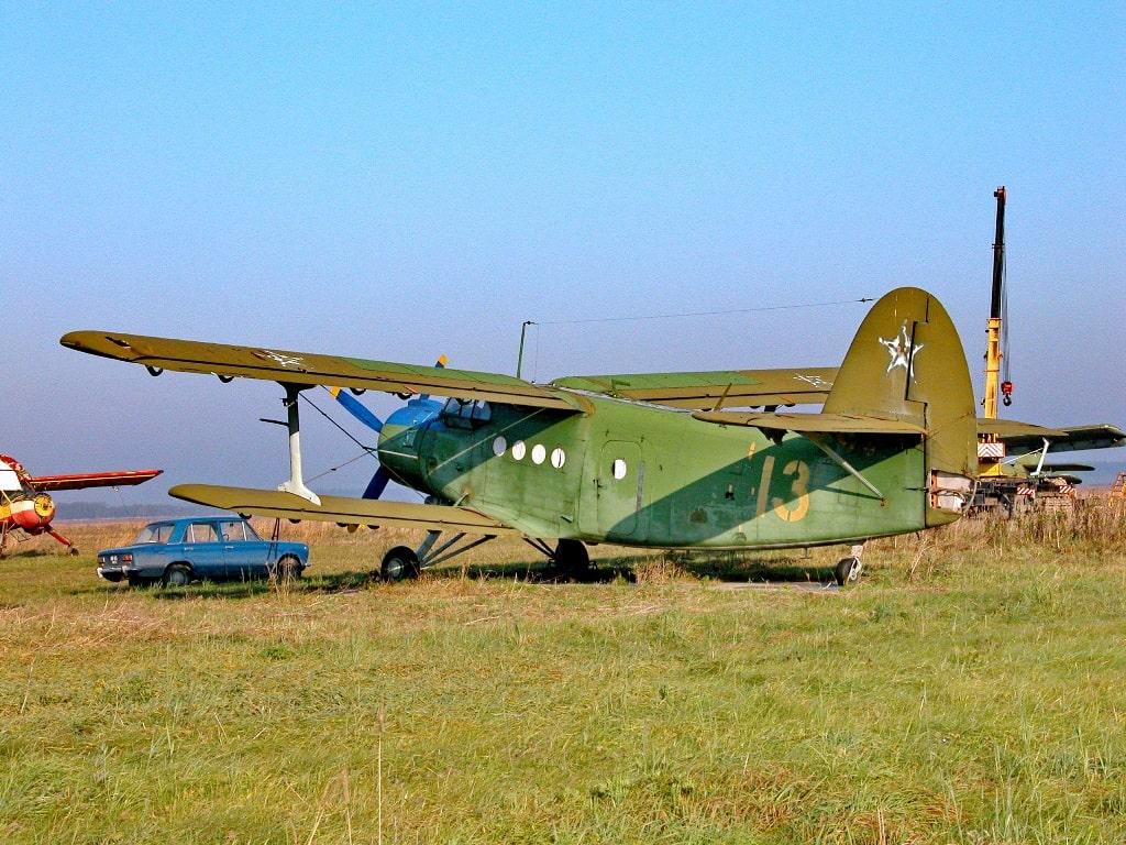 АН-2 под №13 - ценный экспонат для музея гражданской авиации