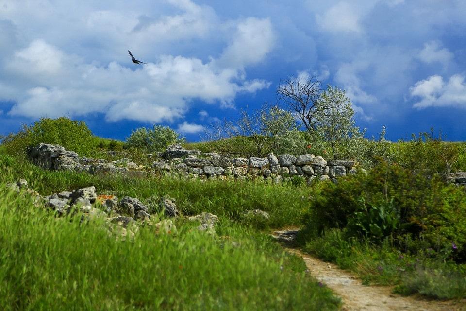На Чатыр-Даге можно встретить древние руины