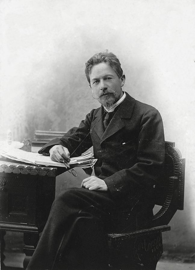 Антон Чехов в 1889 году