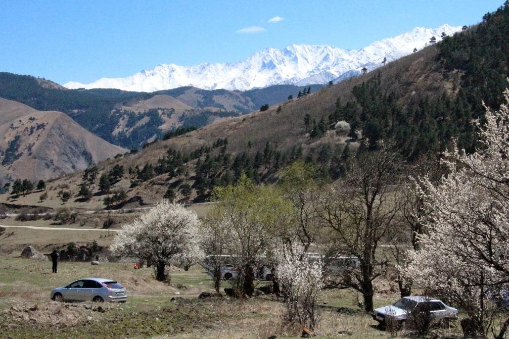 Один из красивейших уголков Кавказа