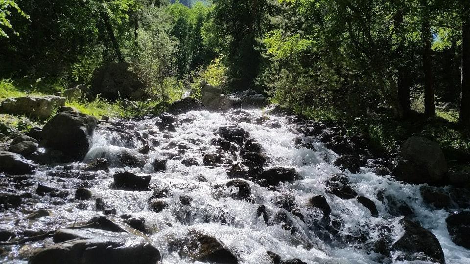 Эти места изобилуют водой