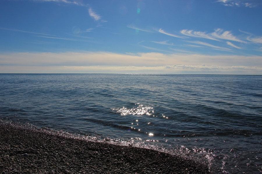 Адлер – это 17 км пляжей