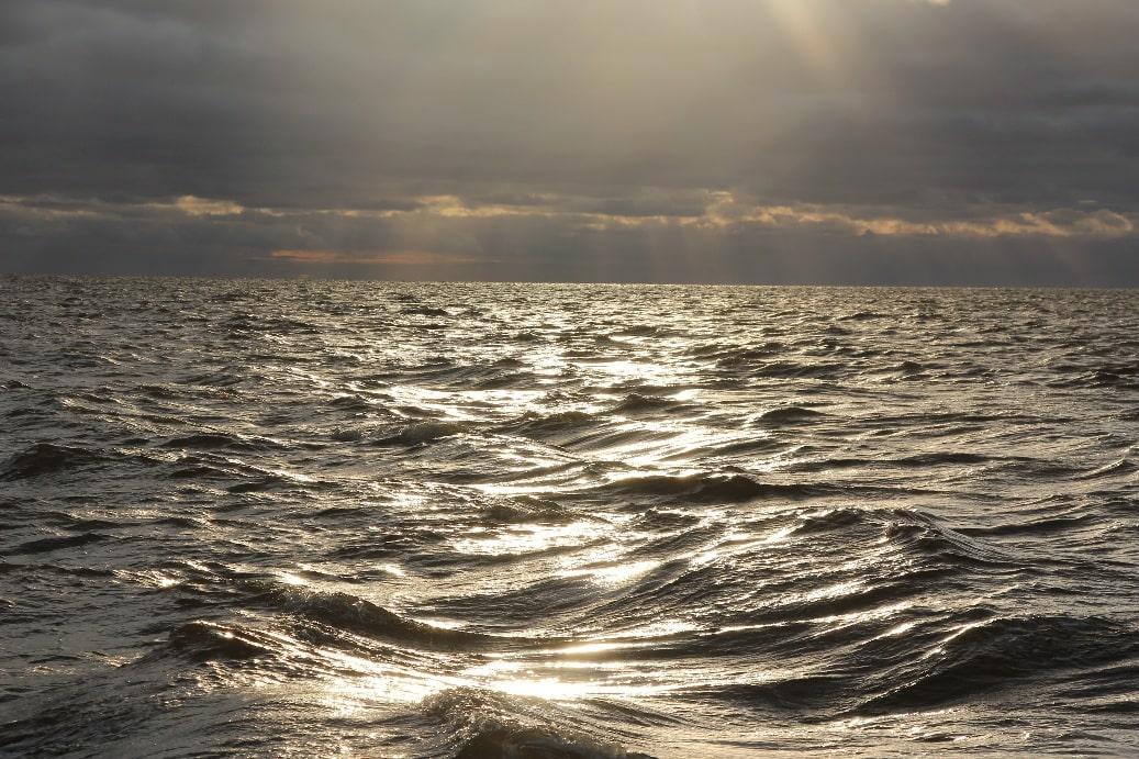 Белое море сурово даже летом
