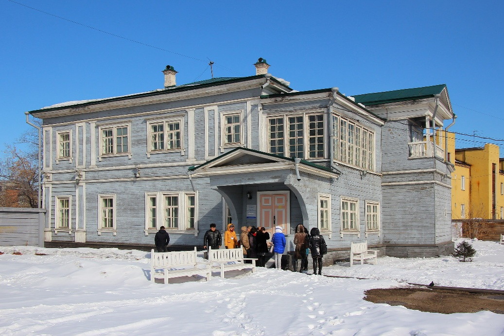 Дом декабриста Сергея Волконского