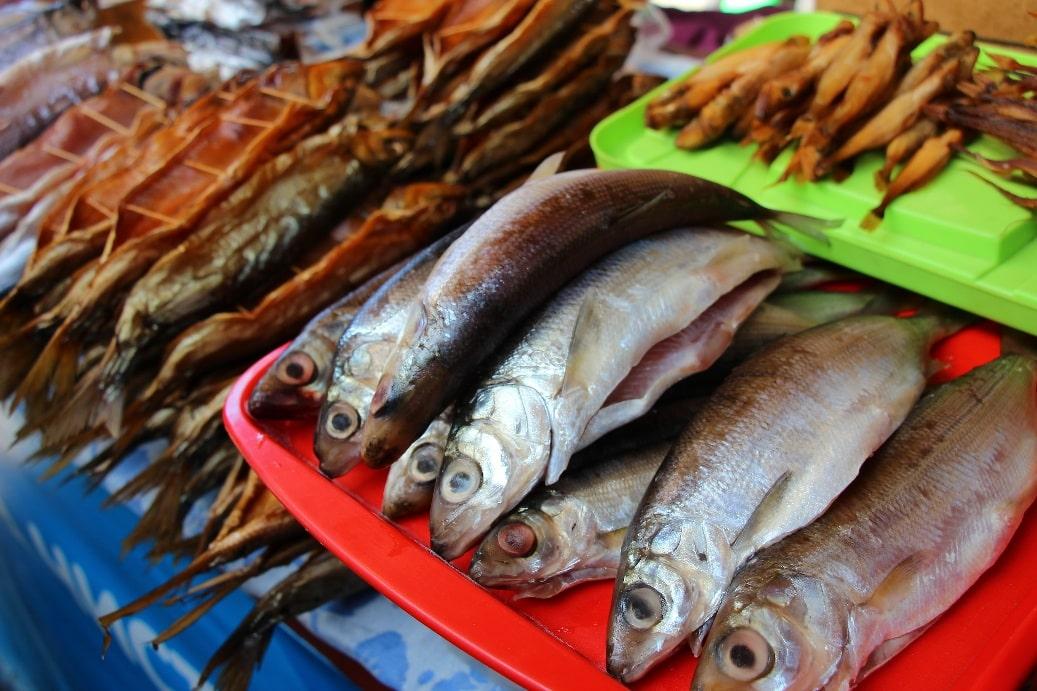 Рыба – главное богатство Байкала