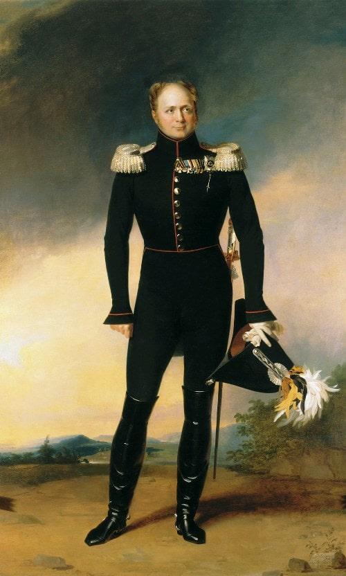 В 1820 году обитель посетил император Александр I