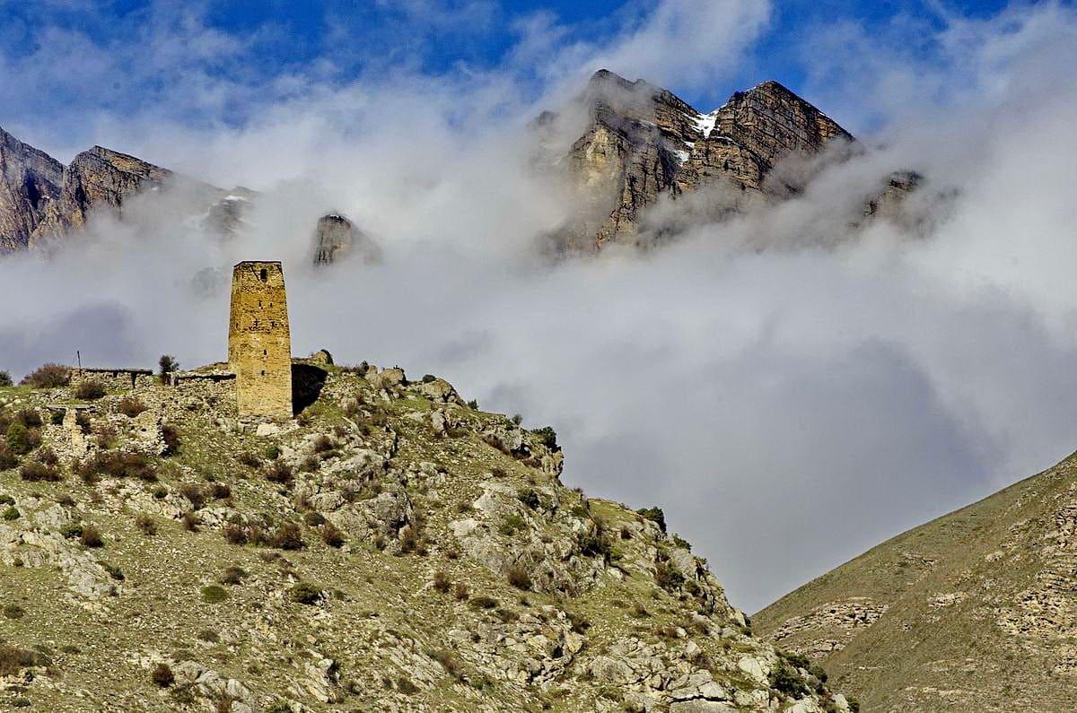 Башня Абисаловых в селе Махческ