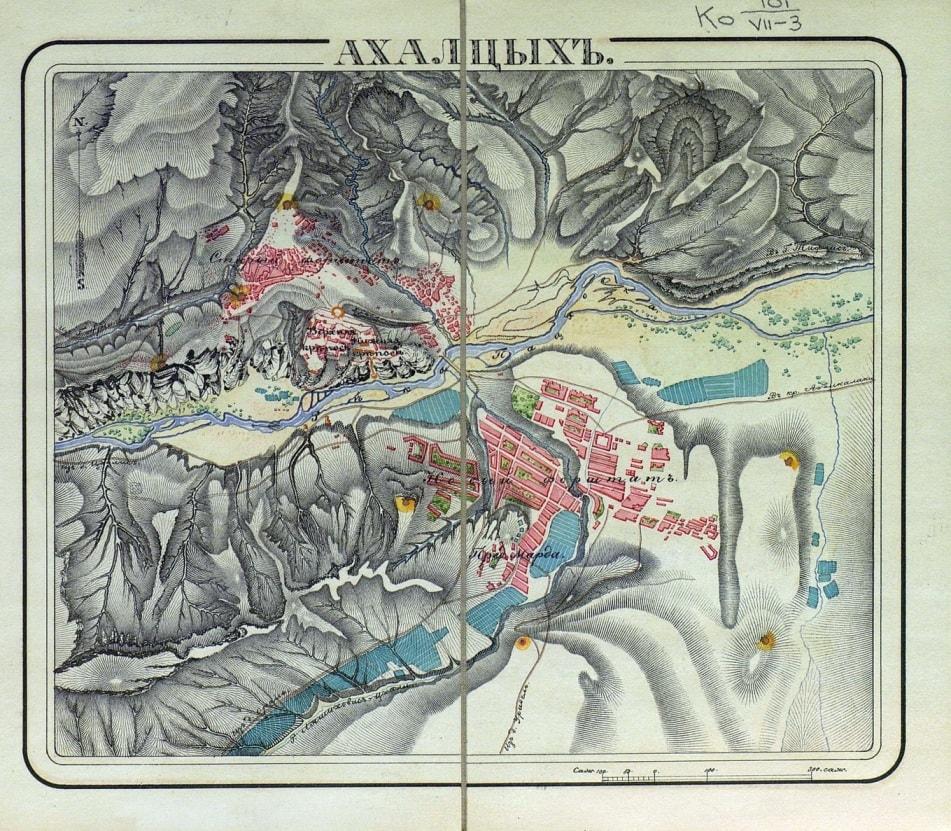 План крепости 1830 г.