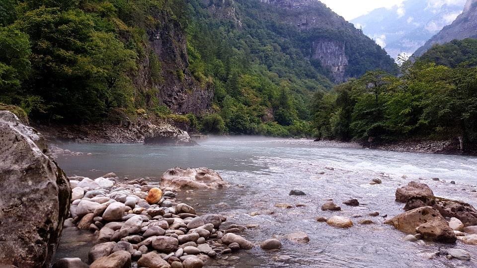 Ущелье считается одним из самых живописных мест Абхазии