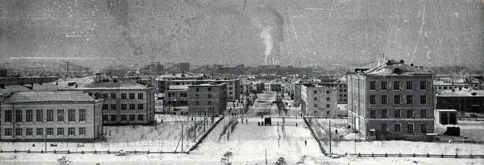 Таким город выглядел в 1971 году