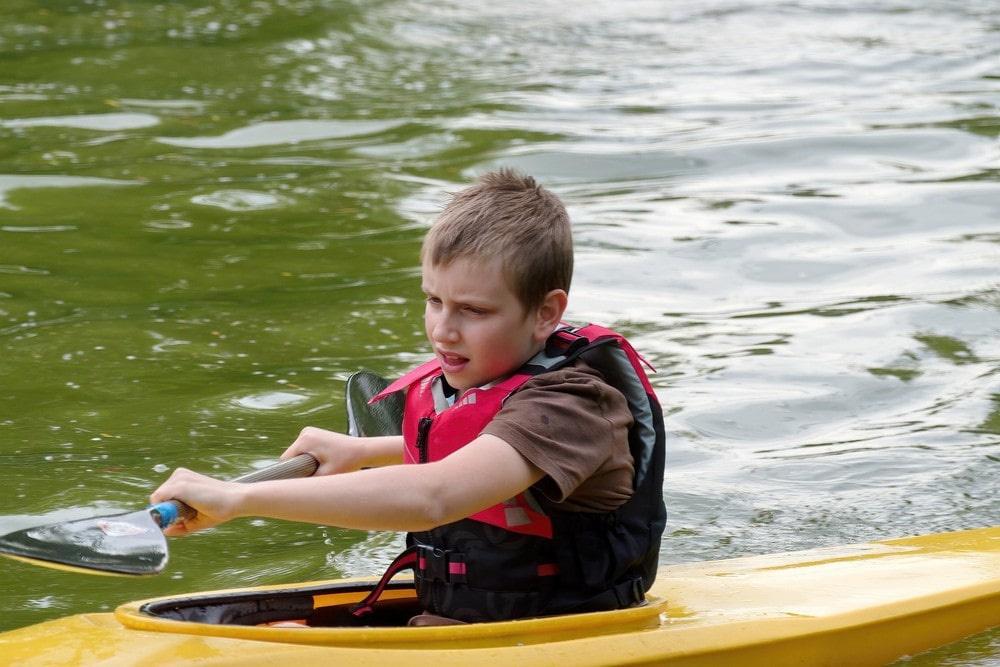 Калга пользуется большой популярностью среди любителей водных походов