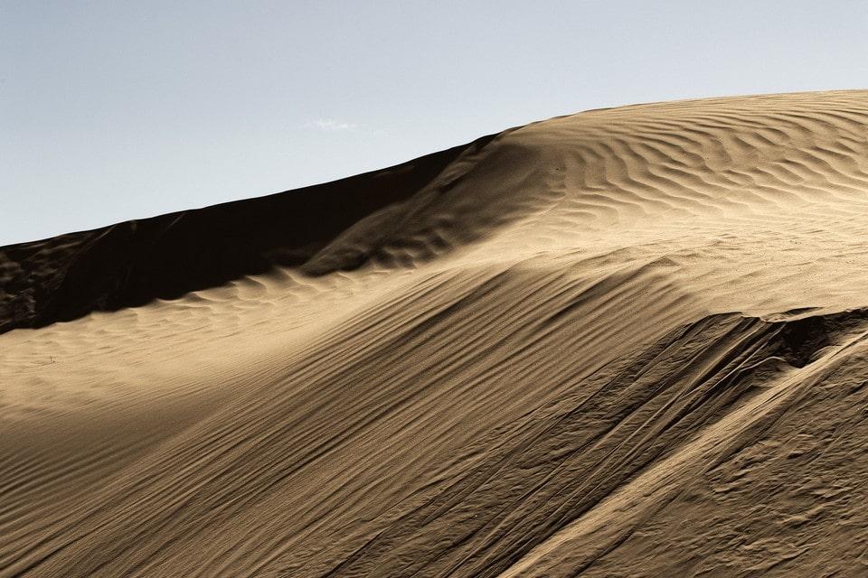 Пустыня тоже может быть красивой
