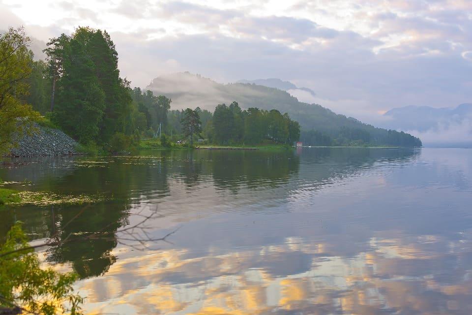 Длина легендарной реки превышает 2 тысячи километров