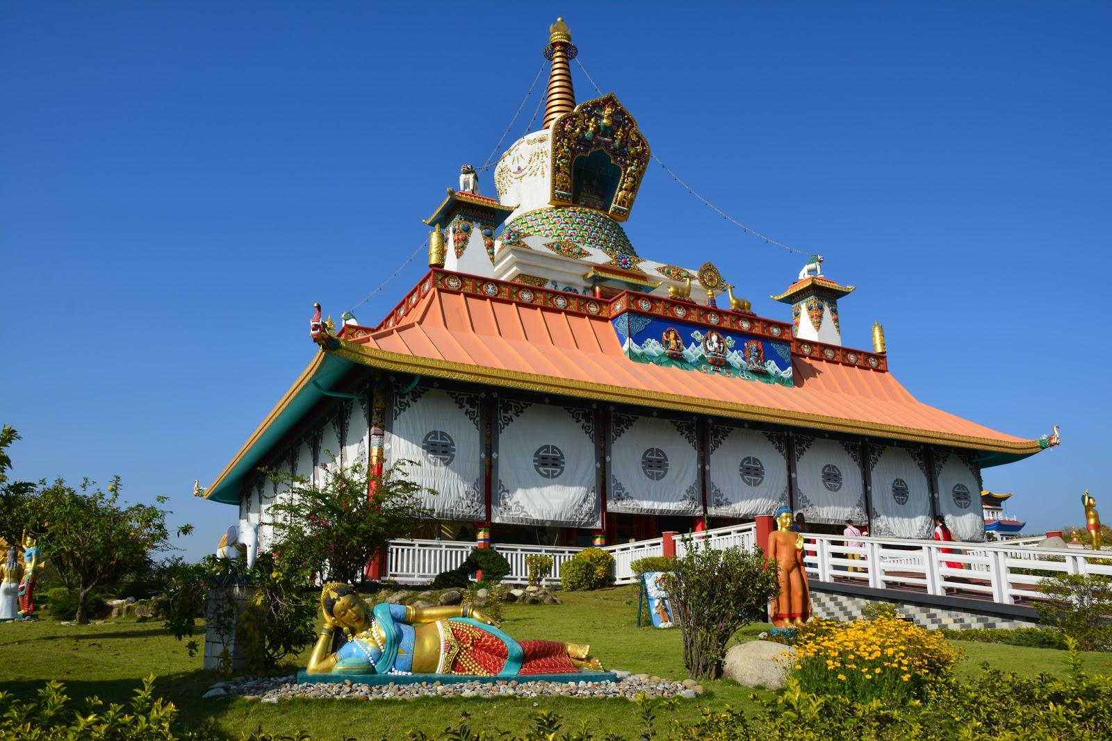 Храм немецких буддистов