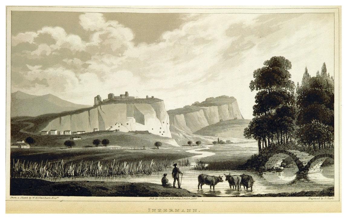 Река Черная и Инкерман. 1830 год