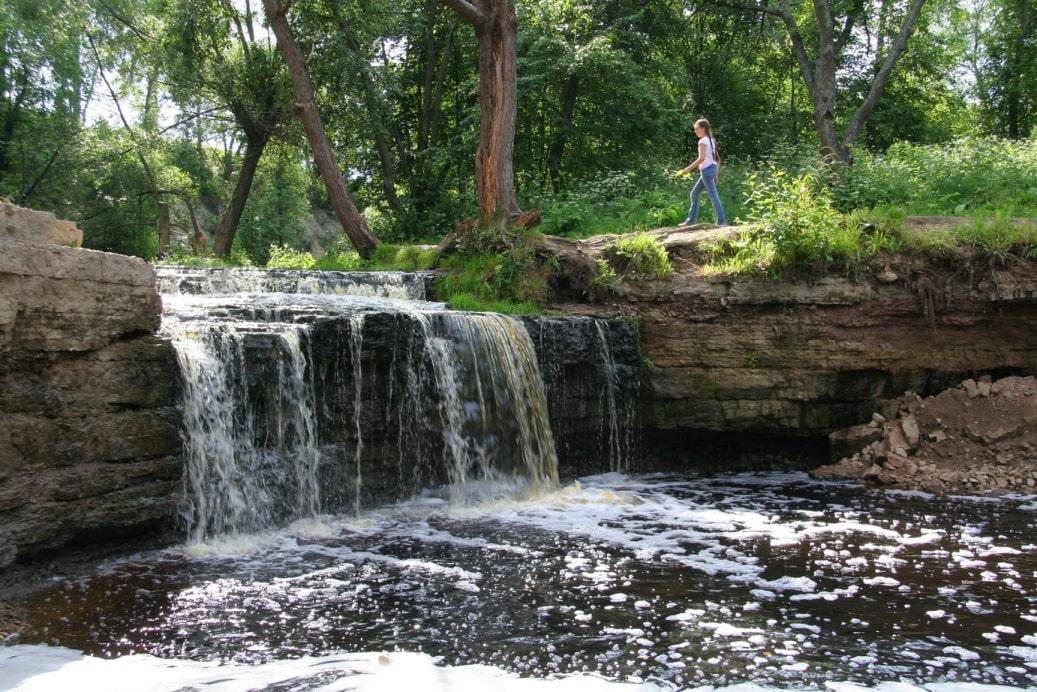 Саблинский водопад