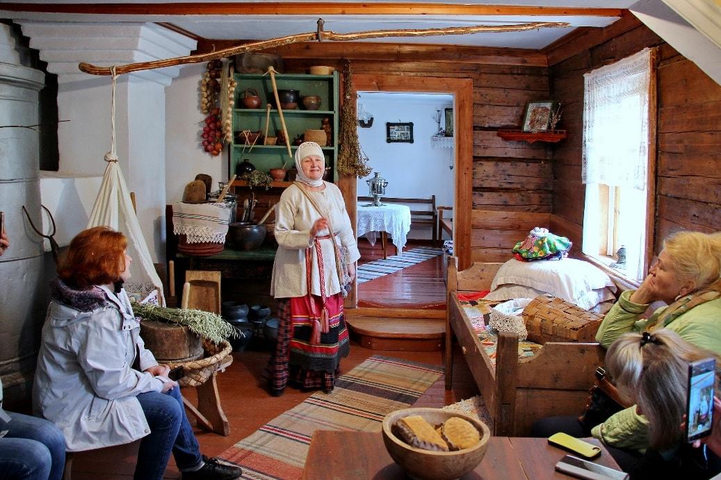 Традиционный вепсский дом