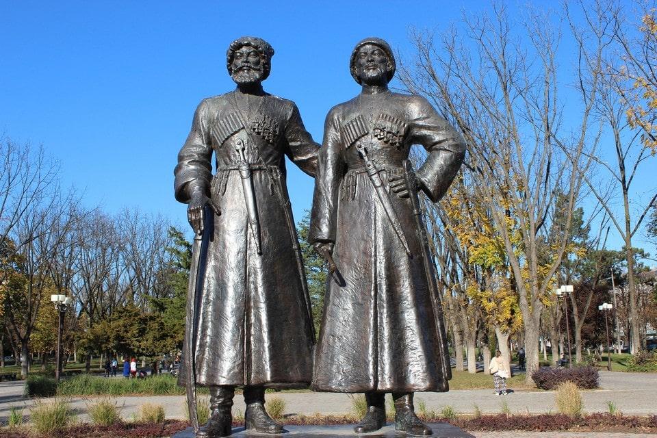 Памятник русско-черкесской дружбе