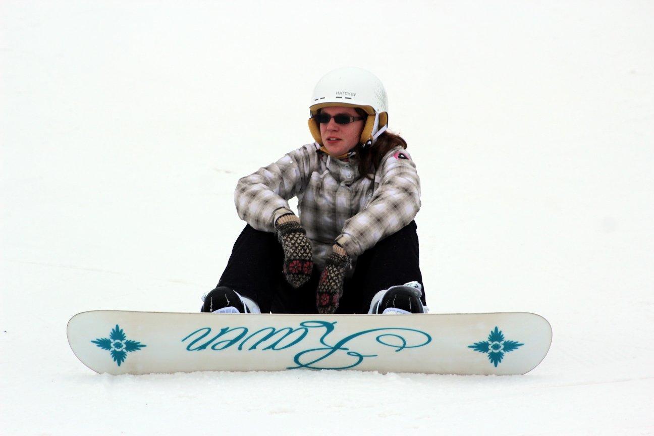 На курорте есть отличные возможности для сноубордистов