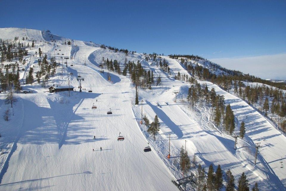 Трассы горнолыжного курорта Тахко