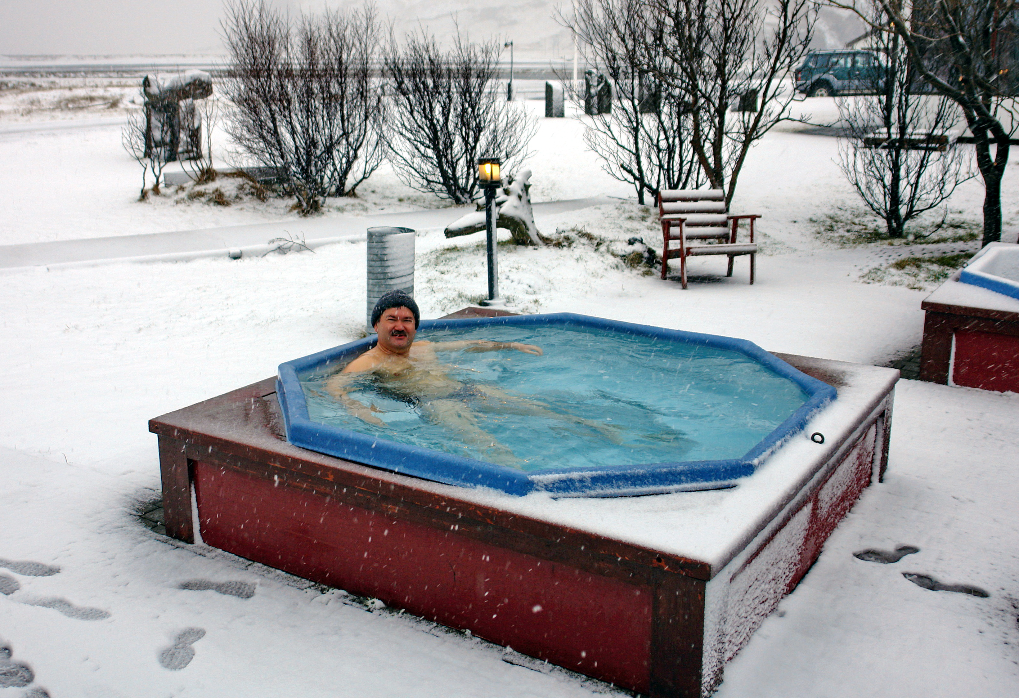 Термы на исландской ферме