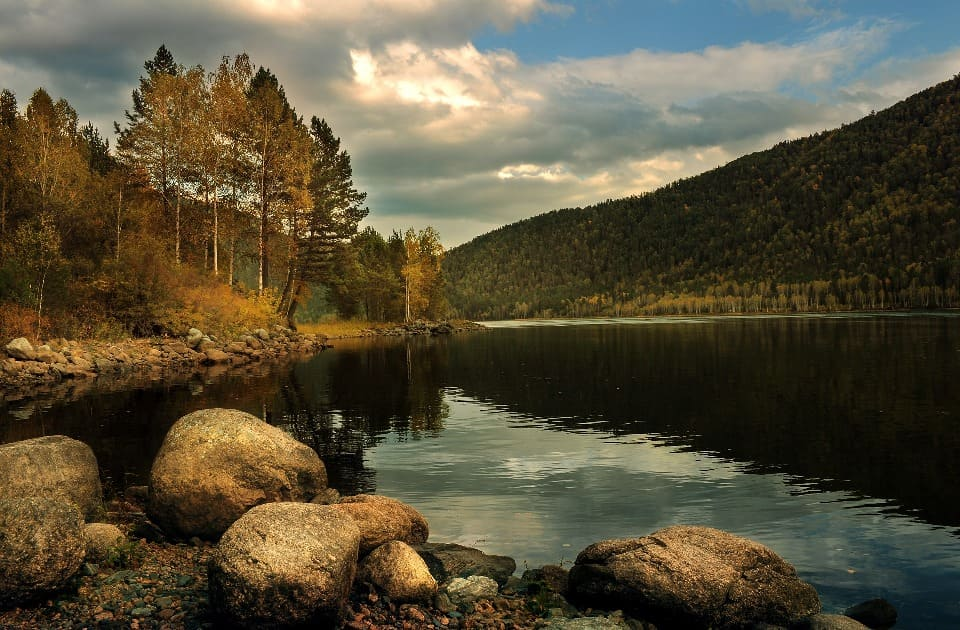 На этом озере Джек Лондон никогда не бывал