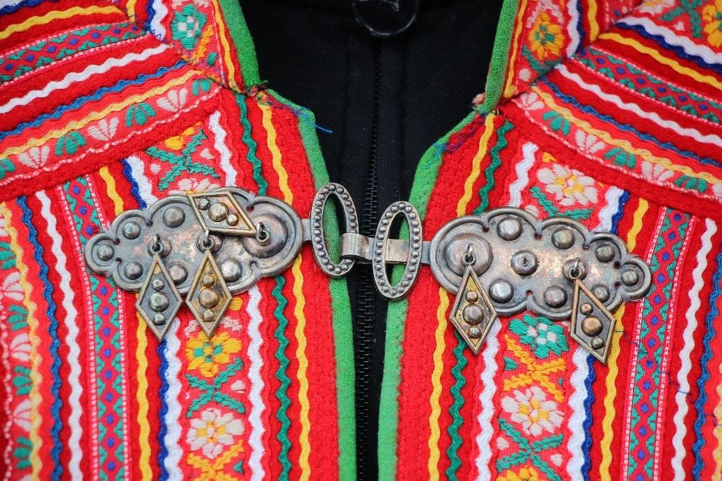 Саамские украшения для одежды