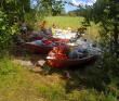 Поход на лодках с детьми [Ленобласть]