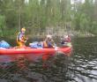 Сплав по реке Суна на байдарках