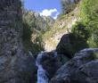 Горный лагерь в Цейском ущелье (Северная Осетия)