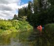 Сплав по реке Оредеж на пакрафтах