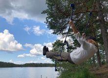 Сев-Запад, Пеший поход к Зеленодольским озерам