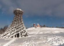 Подмосковье, Лыжный поход - Архкатание в Николо-Ленивец