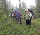 Кольский, Пеший спортивный поход 2-й категории сложности по Хибинам