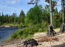 Кольский, Сплав по реке Тумча на байдарках