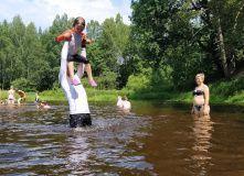 Подмосковье, Сплав на байдарках по реке Нерская с баней на берегу и автосопровождением - Московская область