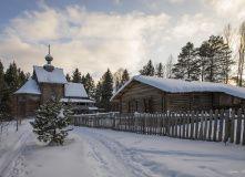 Подмосковье, Лыжный поход - Зимняя благодать в Торжке