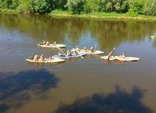 Подмосковье, Сплав с баней по реке Клязьма