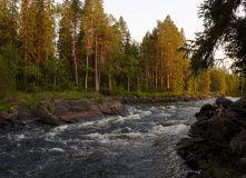 Карелия, Сплав по реке Охта