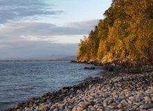 Байкал, По Байкалу на байдарках: Святой Нос
