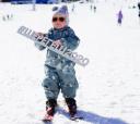 Сибирь, Шерегеш. Обучение катанию на горных лыжах