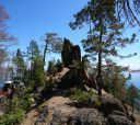 Байкал, По Западному побережью Байкала (вдоль Приморского хребта)