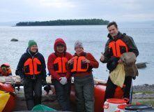 Кольский, Белое море на байдарках: Терский берег