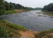 Подмосковье, Сплав по реке Волга с Бенскими порогами - Тверская область