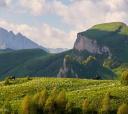 Кавказ, Верхом через Чёртовы ворота (конный к Большому Тхачу)