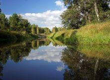 Подмосковье, Сплав на байдарках по Москве-реке от Можайска до Рузы. С баней на берегу