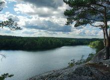 Сев-Запад, Выходные на озере Ястребиное и Больших скалах